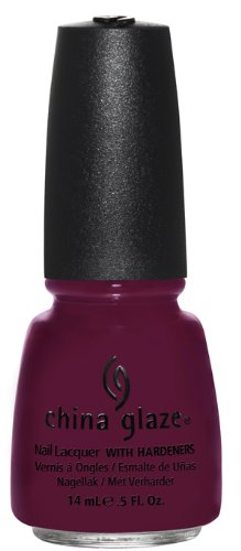 China Glaze Nail Polish, Purr-Fact Plum, 0.5 Fluid Ounce