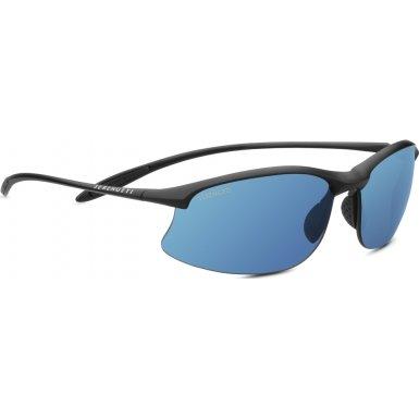 Serengeti Sport Nylon Maestrale Satin Black Phd Polarized 555nm Blue Sunglasses