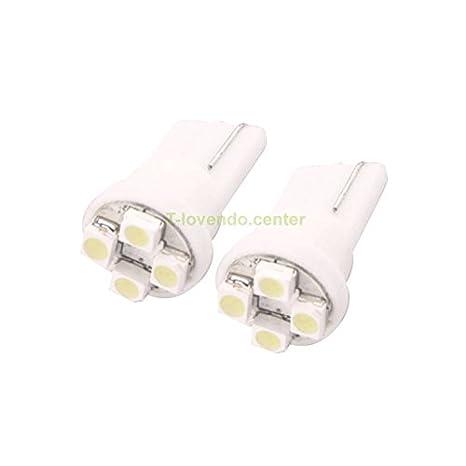 2 Bombillas LED T10 4SMD W5W para Coche: Amazon.es: Bricolaje y herramientas