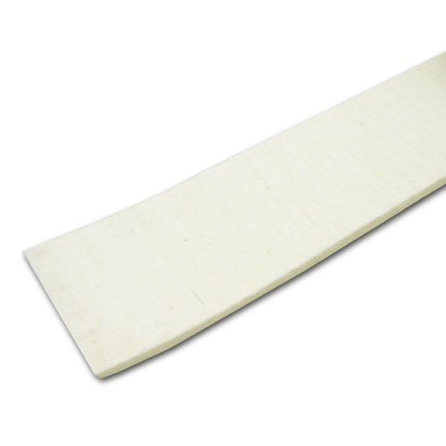 Heavy Duty/Industrial Felt Stripping with Adhesive (F50 PSA-1/2'' x 50'), 1/16 in