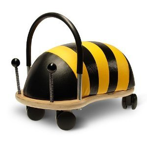 - Kids Small Wheely Bug Bee Ride-on bee toy polyurethane skin plywood base