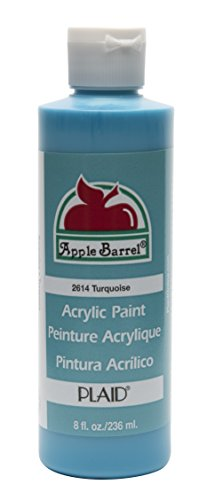 - Apple Barrel Acrylic Paint in Assorted Colors (8 oz), K2614 Turquoise