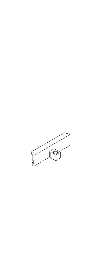 KOHLER 1006134-CP Part Top Left/Bottom Right Door Hinge, Polished Chrome