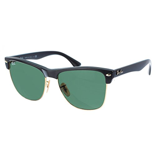 Ray-Ban Clubmaster Oversized Sunglasse, RB4175 877, Black, 57mm