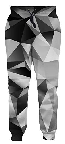 70s Big and Tall Men and Women Unisex Geometry Design Workout Sweatpants Summer Sports Athletic Yoga Running Pants Casual Polo Hispter Clothing -