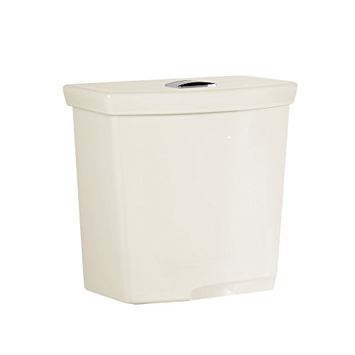 """American Standard 4133A518.222 H2Option Dual Flush 12"""" Rough-In Toilet Tank with Liner, Linen"""