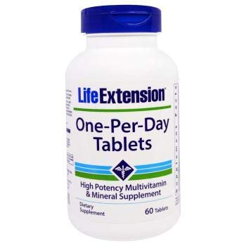 Life Extension One Per Day Tablets, 60 Count ()