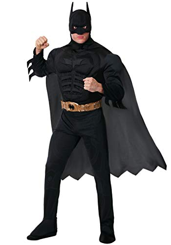 (Rubie's Adult Deluxe Dark Knight Batman Costume Small)
