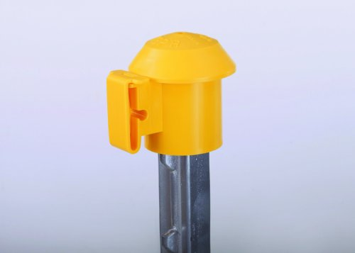 DARE PRODUCTS INC P 2027 T POST TOPPER INSULATOR YELLOW 10 /pack