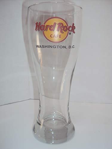 Hard Rock Cafe Washington DC Pilsner Beer Glass