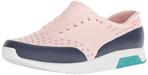 Native Kids Unisex Lennox Junior Sneaker, Cold Pink/Shell Wh
