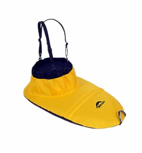 SEALS Adventurer Sprayskirt, 5. Gold Yellow One Size