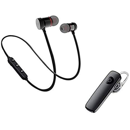 Z X CREATIVE Combo Mini K1 Universal Wireless Bluetooth Earpiece, Smart Call Answering Earphone for Android