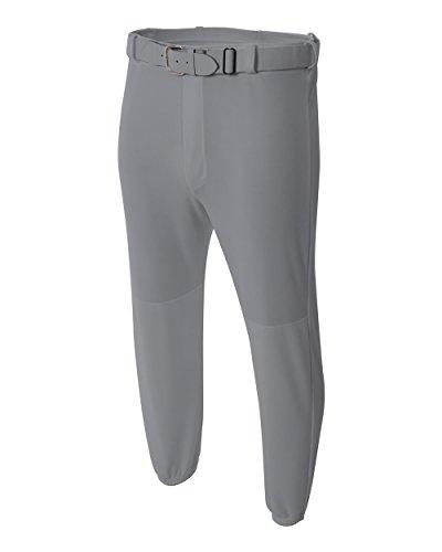 Grey Youth XS Baseball Pants Moisture Wicking Cool Comfortball Pull-up Baseball/Softball Pants (Baseballs For Shetland)