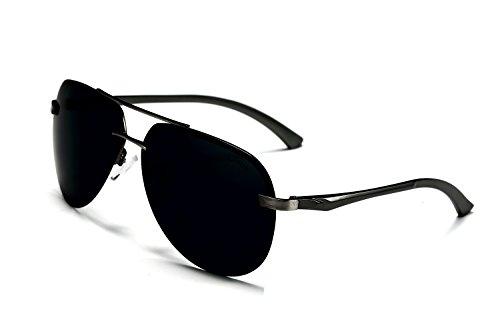 AORON HD Mode Polarisierte Sonnenbrille Herren Outdoor Sportarten Schutz Brille UV-Schutz Fahrbrille
