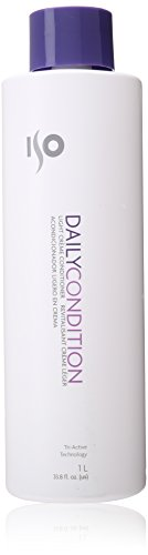 ISO Daily Condition Light Cream Unisex Conditioner, 33.8 Fl Oz