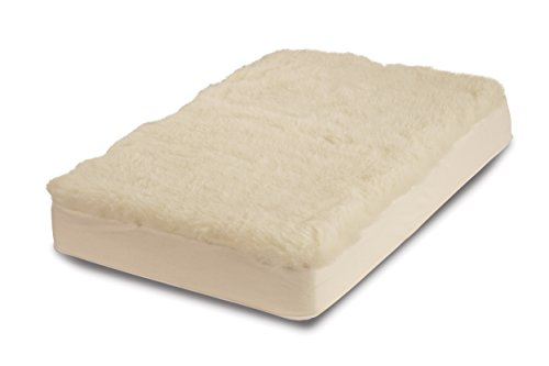 (Century Home Signature Collection Woolmark Certified Pure Wool Fleece Mattress Pad,)
