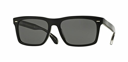 Oliver Peoples - Brodsky - 5322 55 - Polarized Sunglasses (BLACK, Graphite Polar - Peoples Polarized Oliver