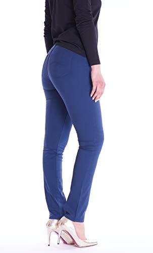 Pantalón Trussardi Jeans Para Mujer Turquesa WOP5A0PqR6