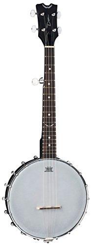 Dean Backwoods Banjo (Dean BW MINI BKS Guitars Backwoods Mini Travel Banjo, BKS)