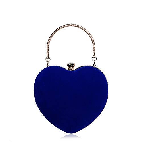 Yzibei di Sacchetto discoteca perla per sferica Blu riunione delle donne compleanno partito Colore cena festa pratico annuale moda di Rosa rwrIqg5