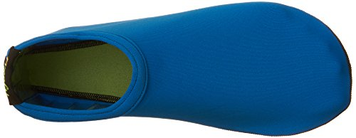 Frei Barfuß Wasser Haut Schuhe Aqua Socken für Beach Swim Surf Yoga Übung Blau