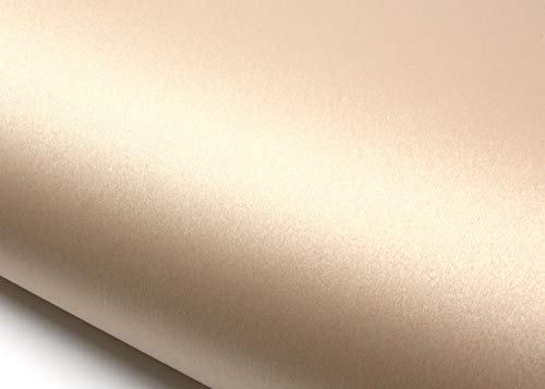 ROSEROSA Peel & Stick Backsplash Hair Line Metallic Textured Vinyl Wallpaper & Border Sticker Self-Adhesive Wallpaper Shelf Liner Soft Hair Line (MT742 : 2.00 Feet X 6.56 Feet)