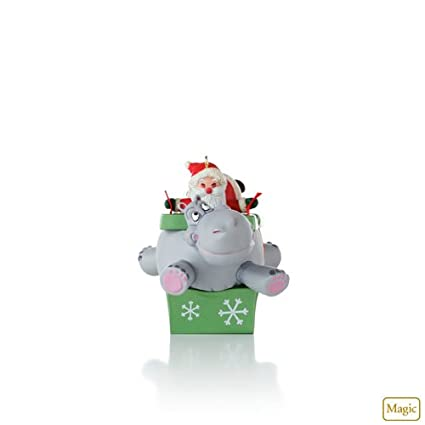 Hallmark 2012 Keepsake Ornaments QXG3221 I Want A Hippopotamus For Christmas - Amazon.com: Hallmark 2012 Keepsake Ornaments QXG3221 I Want A