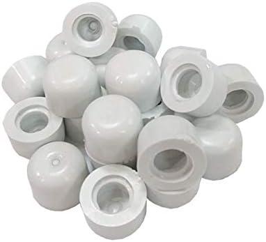 QCAA Door Stop Bumber Tips 50 Pack White