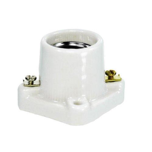 Medium Porcelain Pony Cleat Socket - PLT D98