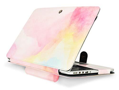 KECC MacBook Leather Protective Rainbow