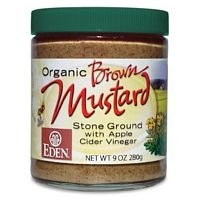 Eden Foods Organic Brown Mustard - Glass, 9 Ounce -- 12 per case. by Eden