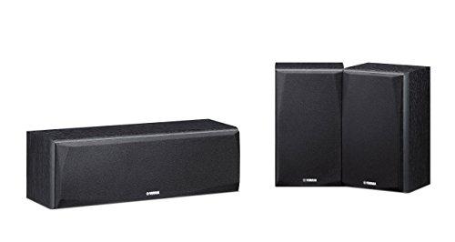 Caixas Acústicas Yamaha NS-P51 Preta para Sistemas de Home Theater 150W