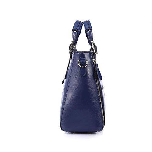 Sac à bandoulière Rxf pour les boutiques de loisirs (couleur: blanc, taille S.) bleu