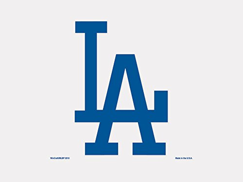 "WinCraft MLB Los Angeles Dodgers Perfect Cut Color Decal, 4"" x 4"""
