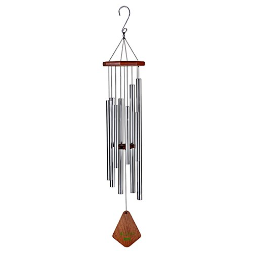 Agirlgle 44 Wind Chimes Outdoor Large Metal Windchimes Garden Amazing Grace with 8 Tubes Tuned Memorial Wind Chimes indoor Perfect Decor for Your own Patio Porch Garden or Backyard 44 inches