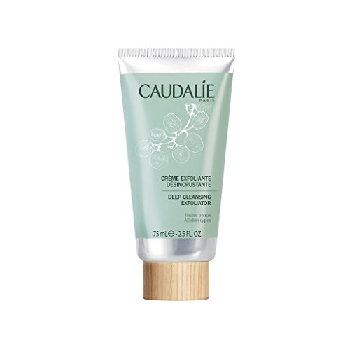 Caudal e Deep Cleansing Exfoliator. Purify and Cleanse Face and Improve Texture with Natural Ingredients Infused with Grapefruit, Mint and Orange 2.5 oz 75 mL