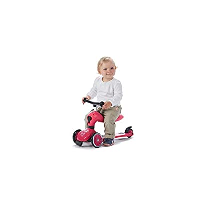 Scoot and Ride Highwaykick 1 Scooter and Ride On Toy (Pink): Sports & Outdoors
