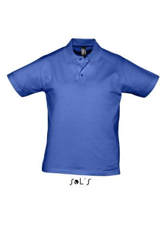 SOL´S Men Polo Shirt Prescott, Größe:3XL, Farbe:Royal Blue