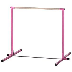 Nimble Sports Pink Non Adjustable Horizontal Bar 4 Feet High Kip Bar