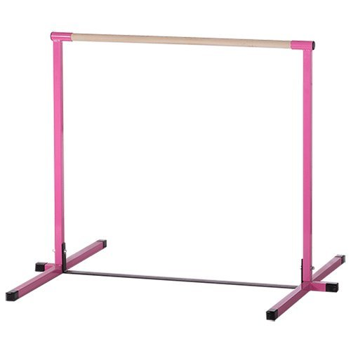 Pink Junior Non Adjustable Horizontal Bar