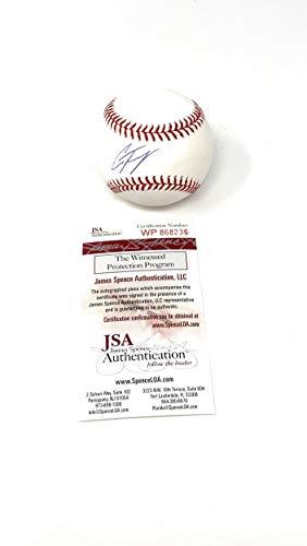 Gleyber Torres New York Yankees Signed Autograph Official MLB Baseball JSA Witnessed - Torres Autographs