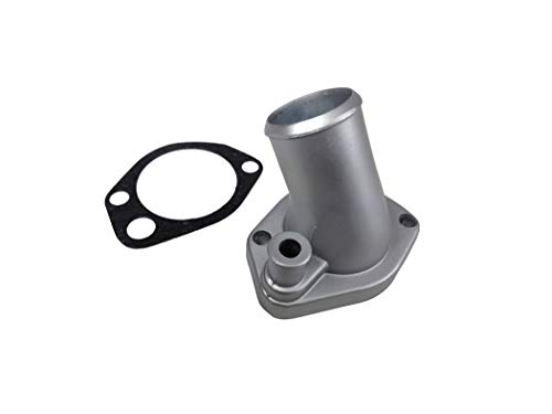 (eClassics 64-70 Mustang Thermostat Housing w/Gasket, HD Zinc Cast, V8 289/302/351W)