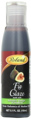 Roland Foods Balsamic Glaze, Fig, 5.1 Ounce -