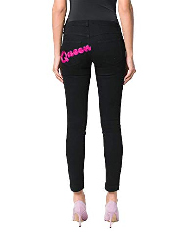 Gabbana Cotone Nero FTAH7ZG8T27N0000 Donna amp; Jeans Dolce Rw1qX5An