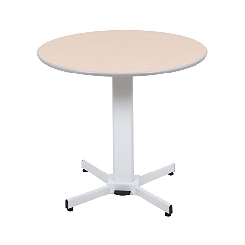 Luxor Pneumatic Adjustable Multi-Functional Round Pedestal Table