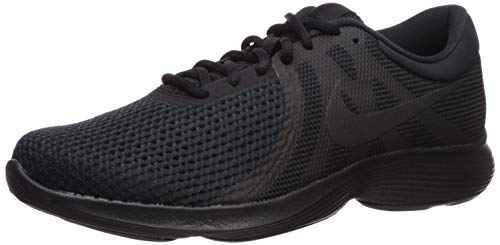 Nike Men's Revolution 4 Running Shoe, Black/Black, 11 4E US