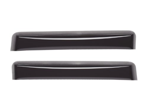 WeatherTech Custom Fit Rear Side Window Deflectors for Jaguar S-Type, Dark Smoke by WeatherTech