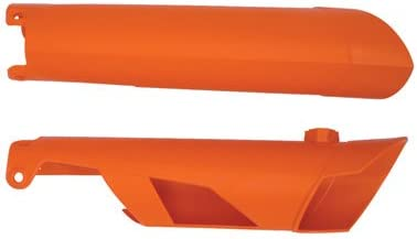 Acerbis Lower Fork Cover Set KTM Orange for KTM 500 EXC 2012-2015