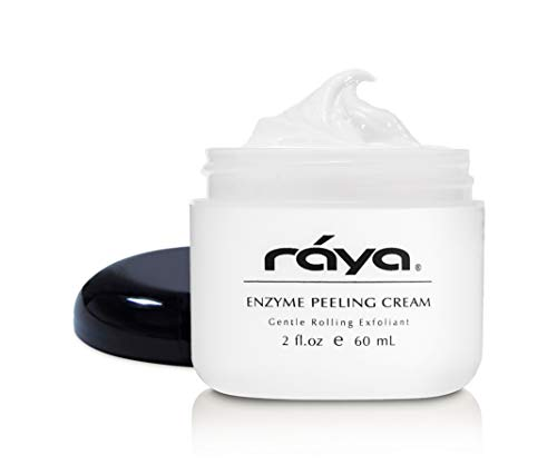 RAYA Enzyme Peeling Facial Cream (109) | Gentle, Exfoliating Treatment for Sensitive Skin | Cleanses, Polishes, and Improves Complexion (Best Treatment For Peeling Skin)